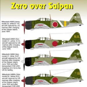 Zero over Saipan Part 1