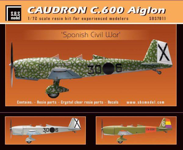 Caudron C.600 Aiglon Spanish Civil War