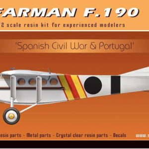 Farman F.190 Spanish Civil War