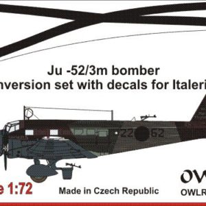 Ju-52/3m Conversion Set with Decals for Italeri Kit