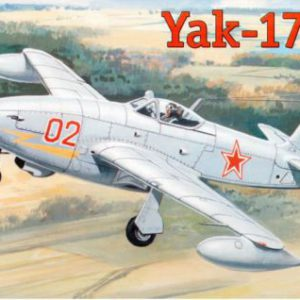 Yak-17 Soviet fighter