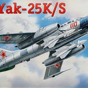 Yak-25 K/S Soviet Fighter