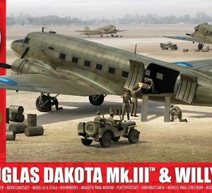 Douglas Dakota Mk.III with Willys Jeep