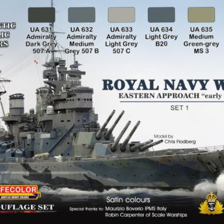 Royal Navy WWII Eastern Approach Early War Set 1