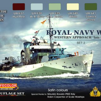 Royal Navy WWII Western Approach late war Set 2