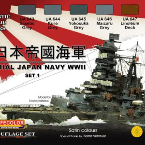 Imperial Japan Navy WWII Set 1