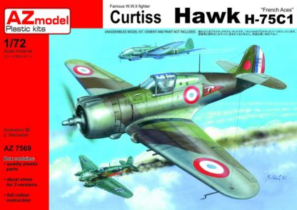 Curtiss Hawk H-75 C1 French Aces