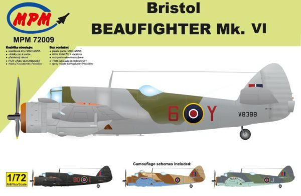 1/72 Bristol Beaufighter Mk VI