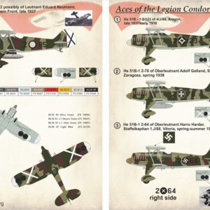1/48 Aces of the Legion Condor Part 1