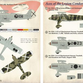 1/48 Aces of the Legion Condor Part 2