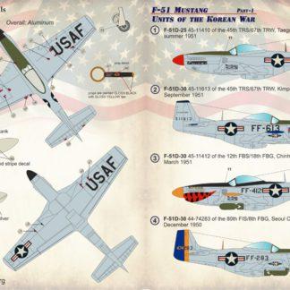 1/72 F-51 Mustang Prt 1