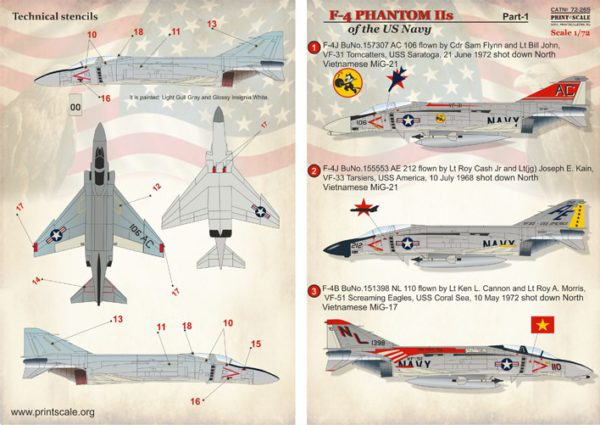 1/72 F-4 Phantom Navy Part 1