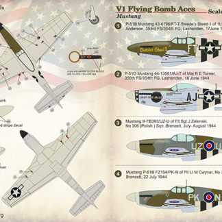 1/72 V1 Flying Bomb Aces- Mustang