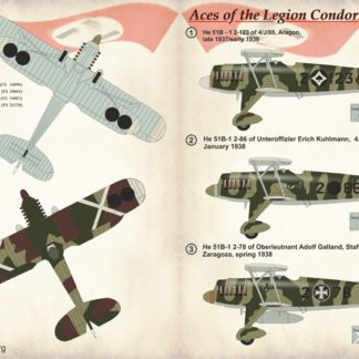 1/72 Aces of the Legion Condor Part 1