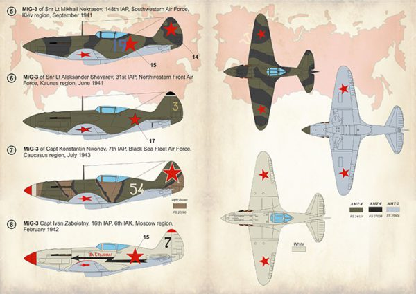1/48 Mig-3 Aces of World War 2
