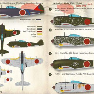 1/72 Nakajima Ki-44 Tojo Part 2