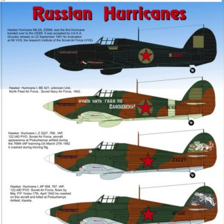1/48 Russian Hurricanes Mk I/ II Part 1
