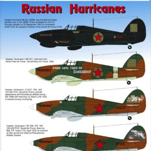 1/72 Russian Hurricanes Mk I/ II Part 1