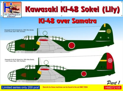 1/72 Ki-48 over Sumatra Part 1