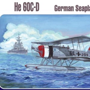 1/72 Heinkel He-60 C/D German Seaplane