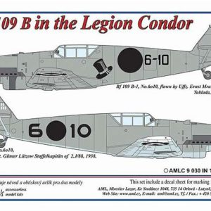 1/72 Messerschmitt Bf 109 B in the Legion Condor