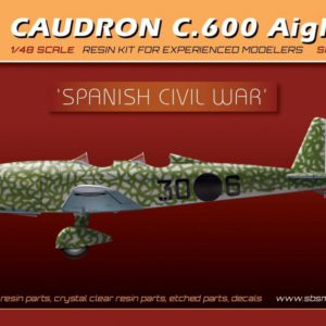 Caudron C.600 Aiglon Spanish Civil War