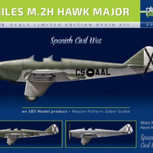 1/72 Miles M.2H Hawk Major Spanish Civil War