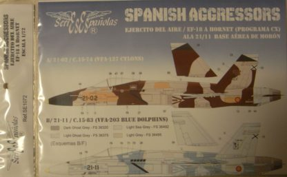 1/72 Spanish Agressors
