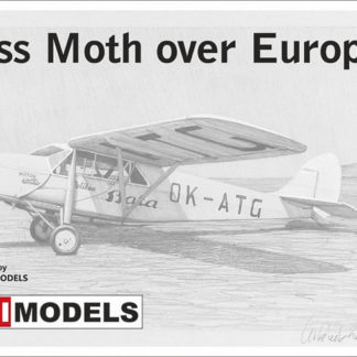 1/72 Puss Moth Over Europe