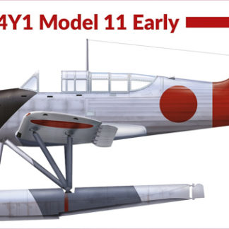 1/72 Kugisho E14Y1 Model 11 Early
