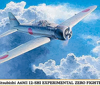 1/48 Mitsubishi A6M1 12-Shi Experimental Zero Fighter