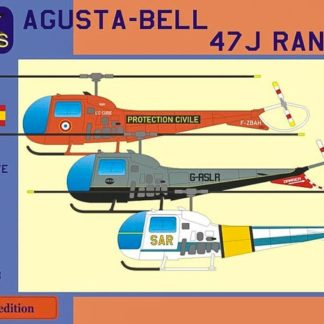 1/48 Agusta-Bell 47 J Ranger (France, UK, Spain)
