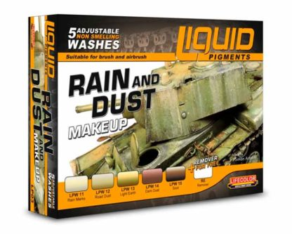 Rain and Dust Makeup
