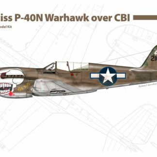 1/48 Curtiss P-40 N Warhawk over CBI