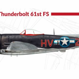 1/72 P-47 M Thunderbolt 61st Fighter Group