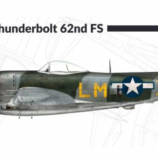 1/72 P-47 M Thunderbolt 62nd Fighter Group