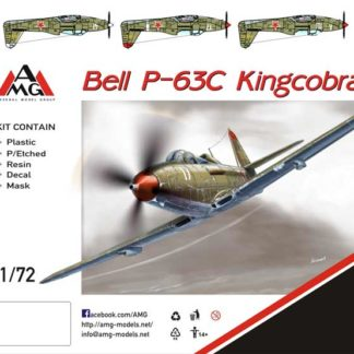 1/72 P-63 C King cobra VVS